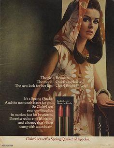Clairol. 1967. ADSAUSAGE - vintage advertising library.