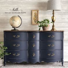 Coastal Blue Dresser | General Finishes Design Center