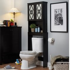 Furniture of America Virille Modern Space Saver Cabinet
