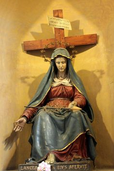 Virgin Mary and the Cross