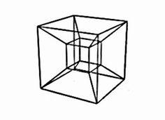 It's the hypercube. Wanna watch it rotate.
