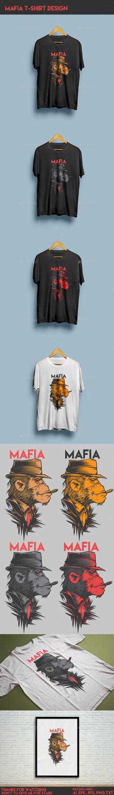 Mafia 2 T-Shirt illustration Design. Download: http://graphicriver.net/item/mafia-2-tshirt-design/12702897?ref=ksioks