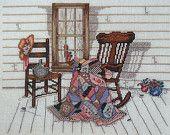 Vintage Paula Vaughan Vaughn AUNT VERDI'S PORCH Book Two - Counted Cross Stitch Pattern Chart