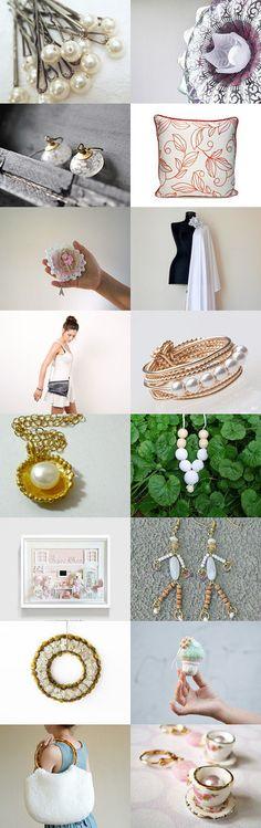 elegant white by MINA SHAKED on Etsy--Pinned with TreasuryPin.com