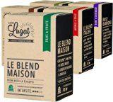 Pack Découverte - 50 capsules de café compatibles Nespresso - Cafés Lugat