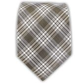 - Reflection Plaid - Champagne (Linen) Ties
