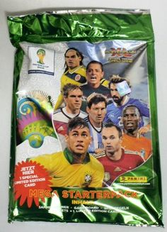 2014 Panini Adrenalyn XL FIFA World Cup Factory Sealed MEGA Starter Kit ! Includes Collectors Binder,5 Booster Packs (30 Cards) and Exclusive Limited Edition Lionel Messi Card   Your #1 Source for Sporting Goods & Outdoor Equipment