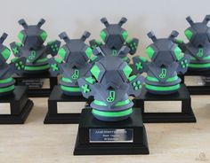 Jamchester Trophies- A4matic  Custom made resin trophies for Jamchester 2016.