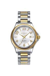 Reloj Viceroy Penélope Cruz, minimalista, femenino y sencillo a la vez, combinación de colores en su correa de acero ajustable y muy resistente, en 3 agujas para su buena lectura de la hora. www.relojes-especiales.net #mujer #chica #armys