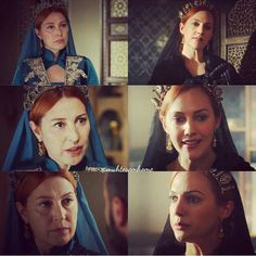 """Vahide Perçin, a living middle finger to all those assholes who are still perpetuating that bullshit about """"Meryem, the only true Hürrem"""". Now there are two true Hürrems. GET OVER IT."""