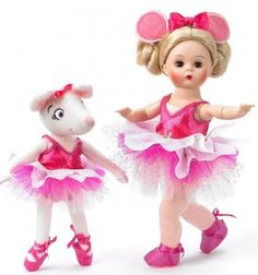LOVELY Angelina Ballerina Madame Alexander doll.