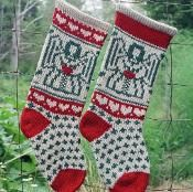 Angel Christmas Stocking - via @Craftsy