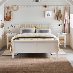 HEMNES | IKEA Indonesia Hemnes Day Bed, Day Bed Frame, Bed Slats, White Stain, Ikea Bedroom, Bed Base, Under Bed Storage, Adjustable Beds, Ikea Duvet