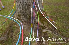 FRIDAY FOREST FUN - Bows and Arrows - Educating the Heart with Nature Art