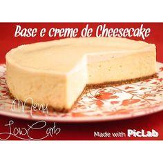 Base e creme de Cheesecake LowCarb   Ingredientes:  Base do cheesecake  90g de farinha de amendoa 30g de farinha de coco 5g colher de cha de fermento em po 60g de oleo de coco ou manteiga 60g de adocante natural  5g colher de cha de sal rosa  Cheescake:  680g de cream cheese - #cremecheesemlc  CREAM CHEESE LowCarb  1 caixinha de creme de leite suco de 1 limão  Misture o creme de leite com o limão e deixe descansar por 20 minutos. Forre uma peneira com papel toalha apoie a peneira em uma…