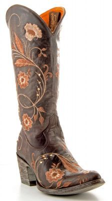 Womens Old Gringo Julie Boots Chocolate #L956-3 via @Allens Boots