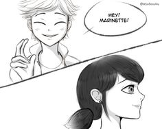 Adrinette 2 (Part What's going on Adrien? cheer up Adrien! haha *evil smirk (bleh- thought this was going to be the last one but I. Rough Draft, Ladybug Comics, Just Friends, Anime Ships, Love Birds, Miraculous Ladybug, Manga Anime, Cute Pictures, Fan Art