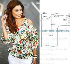 Легкий крой красивых летних блузок 0