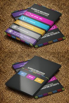 40 Extraordinary Creative Business Cards Design