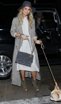 Chrissy Teigen's Chic Maternity Style - November 12, 2015  - from InStyle.com