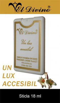 Bottles and Perfume testers. Sticla 18 ml Parfumuri si Produse cosmetice EL Divino Romania Perfume Testers, Romania, Bottles