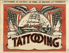 Tattooing as ancient as time, as modern as tomorrow