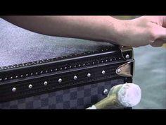 Louis Vuitton - Damier graphite. Luxury furniture, home decor ideas, art and crafts, craftmanship, designer furniture, high end furniture,  For more inspirations: http://www.bocadolobo.com/en/inspiration-and-ideas/