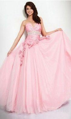 <3 Pink Prom Dresses