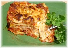 I make this a lot and serve with Italian garlic bread and salad. It always gets a rave review, especially if the mozzarella strings with every bite. This recipe comes from my mother. I think she got it off the back of a Muellers Lasagna box.