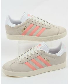 624518de4a2 Shop Adidas Gazelle Chalk White Light Pink Trainer At The Official Adidas  Uk Online Store