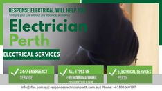 Hiring the right Perth electrician whose vast work experience and ability can help you get the best level of electrical services with the utmost efficiency and convenience. Rewiring A House, Electrical Jobs, Electric Company, Light Installation, Perth, Life