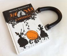 Handmade Book Purse - Arthur Rackham - Cinderella