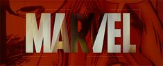 """Marvel Logo. Every time I see this I just think """"We're about to see something awesome!"""""""