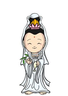 觀音菩薩 - Guānyīn púsà Baby Buddha, Little Buddha, Buddha Doodle, Buddha Art, Chinese Culture, Chinese Art, Buddha Logo, Korean Crafts, Buddha Tattoo Design