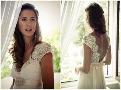 Wow.  Take time to read this blog post...pictures and little snippets from this bohemian wedding in France.  Lots or beautiful ideas and you really get the flavor of it.  This girl loved her day and everything about it.  She did it right.
