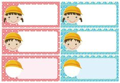 Name Labels, Name Tags, School Frame, Jaebum, Back To School, Diy And Crafts, Family Guy, Clip Art, Classroom