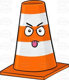 Traffic Cone Character Sticking Out Its Tongue Emoji #annoyed #barrier #block #bollards #cars #cone #cones #control #emoji #emoticon #equipment #intimidating #irritated #management #miffed #mobile #mocking #nettled #orange #peeved #pissed #pissedoff #plastic #posts #riled #safety #safetycone #safetycones #smiley #smilies #stickingouttongue #stripe #striped #stripes #tongueout #traffic #trafficcones #trafficcontrol #trafficequipment #trafficmanagement #trucks #vehicles #white #vector #clipart…