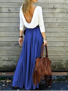 GET $50 NOW | Join RoseGal: Get YOUR $50 NOW!http://www.rosegal.com/maxi-dresses/alluring-long-sleeve-maxi-draped-open-back-dress-612007.html?seid=ego9ikrtfj2t6j1pkvgm84tu95rg612007