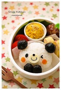 Wink Panda Bento