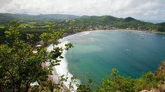 San Juan del Sur. Une des plus belles plages de la côte pacifique du Nicaragua et une petite station balnéaire de 18.000 habitants.