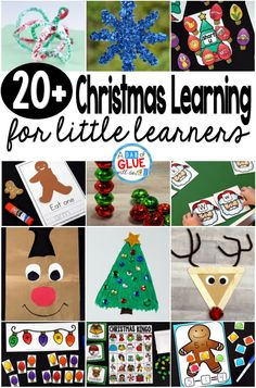 Christmas Learning Resources for Little Learners Kindergarten Christmas Crafts, Christmas Bingo, Christmas Printables, Kindergarten Freebies, Toddler Christmas, Santa Christmas, Winter Christmas, Winter Holidays, Christmas Ideas