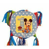 Baby Mickey Mouse 1st Birthday Party Pinata:Amazon:Toys & Games