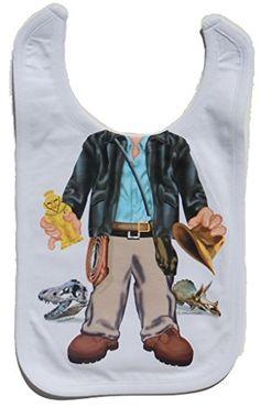 Justaddakid Indiana Jones Bib Just Add A Kid Jones Baby a32a1b4003d