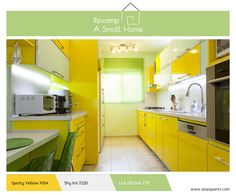 Green natural light kitchen interior design ideas and inspiration, with quality HD images of Green natural light kitchen. White Kitchen Appliances, Red Kitchen, Kitchen Colors, Kitchen Interior, Kitchen Modern, Dark Wood Kitchens, Bright Kitchens, Yellow Kitchen Designs, Design Kitchen