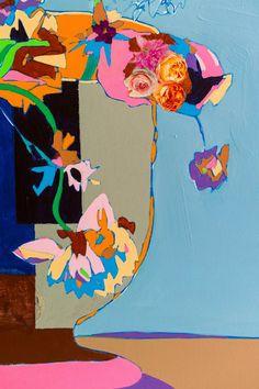 Detail. Vanitas. Mixed media. 110 x 120 cm.