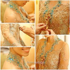 #kebaya #pengantin #repost #latepost #wedding #weddingdress #verakebaya ❤️❤️❤️ (di Hotel Mahakam)