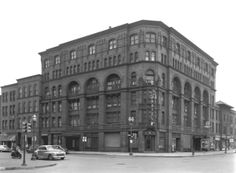 The Earle Hotel stood at 145 Michigan Street NW until it's demolition in the early 1960s during urban renewal. The hotel, on the northeast corner of Michigan Street and Monroe Avenue, was razed to make way for the former Grand Rapids Press headquarters at 155 Michigan Street NW. (Courtesy Photo | Grand Rapids Public Library).