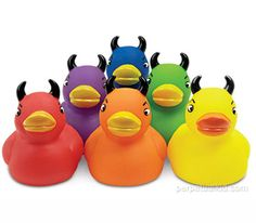 My youngest lives devil ducks! He has these an 20 other ones!