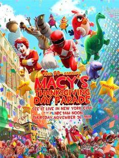 Parada de Thanksgiving da Macy's em Nova Iorque