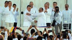 Juan Manuel Santos: Hay una guerra menos en el mundo y es la de Colombia
